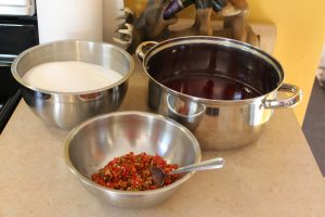crab-apple-hot-pepper-jelly-ingredients