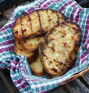 BBQ Garlic Bread