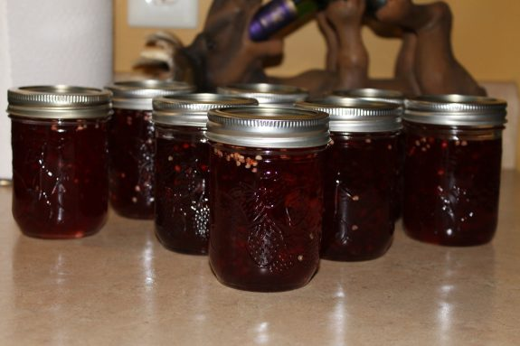 crab apple hot pepper jelly